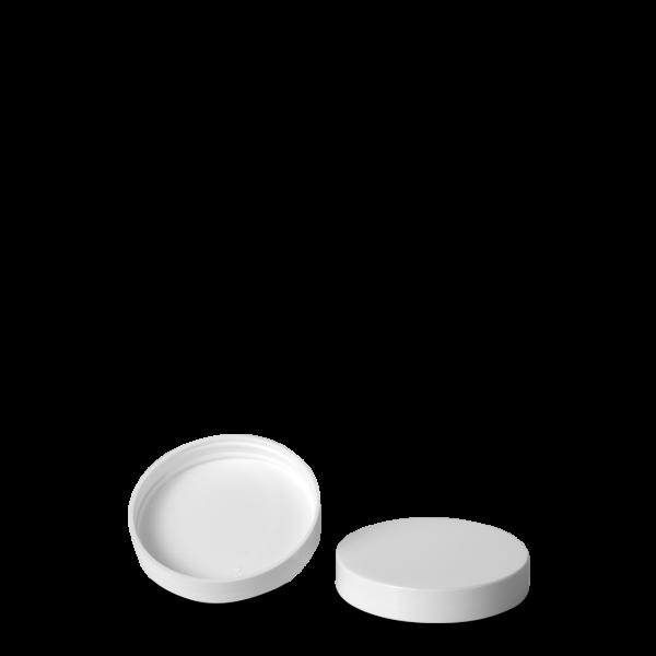 Schraubdeckel - weiß - 55 mm Gewinde