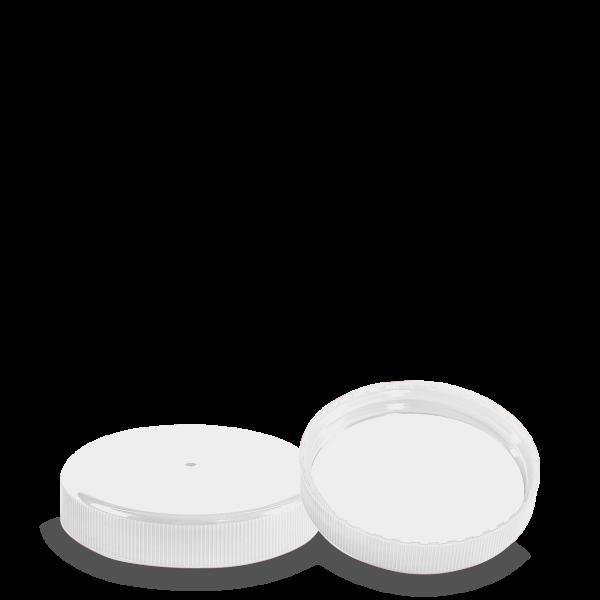 Schraubverschluss - weiß - DIN 90 Gewinde
