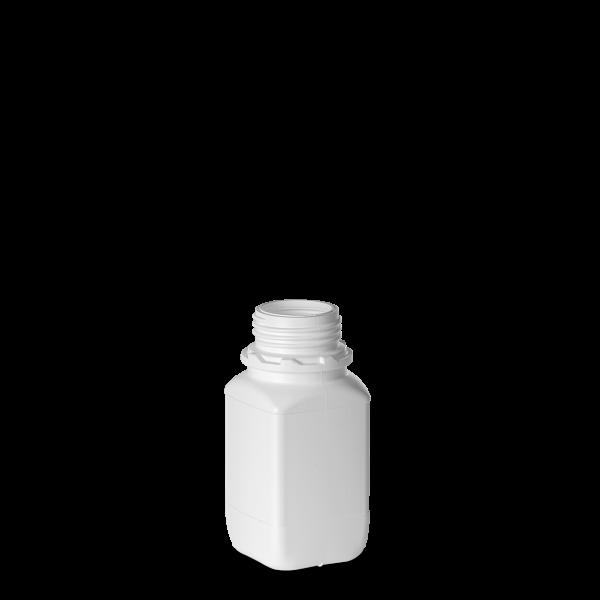 250ml Vierkantflasche - weiß - OV 45 - UN-X