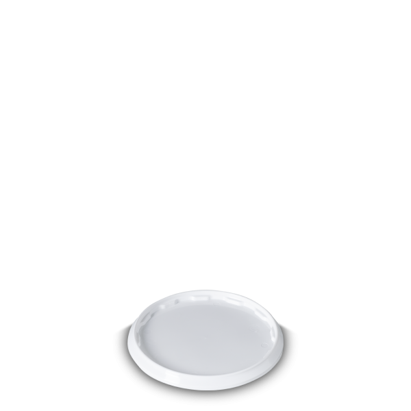 Schnappdeckel Eimer - weiß - 13L - rund