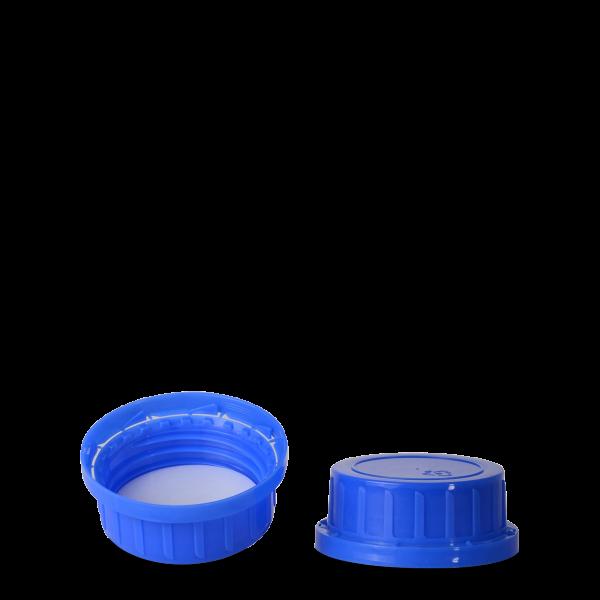 Originalitätsverschluss - blau - OV 54 Gewinde