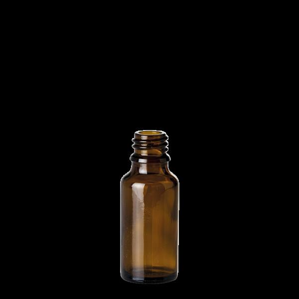 20 ml Allroundflasche - Braunglas - GL 18 Gewinde