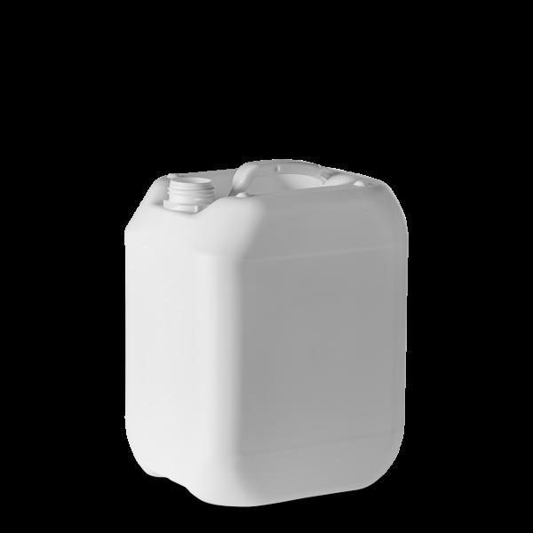 10 Liter Kunststoff Kanister weiß - DIN 45 - UN-Y