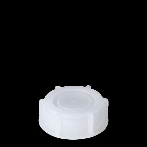 Verschluss Laborflasche - natur - DIN 28 Gewinde