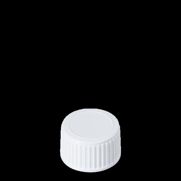 Schraubverschluss - weiß - PP 28 Gewinde
