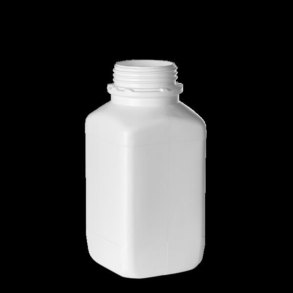 2500ml Vierkantflasche - weiß - OV 80 - UN-X
