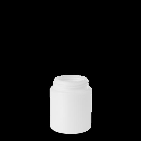 250 ml Dose - rund - natur - DIN 60 Gewinde