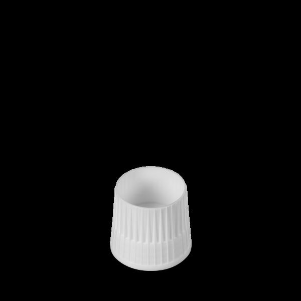 Messbecherverschluss - weiß - DIN 28 Gewinde