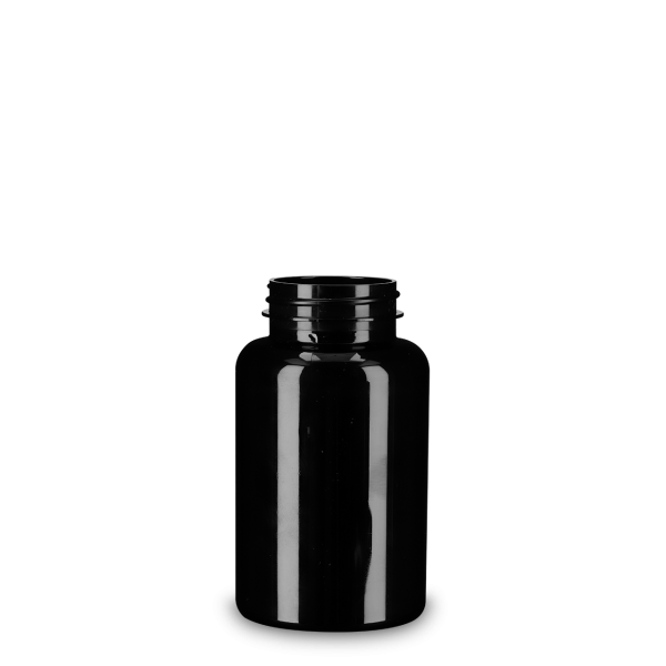250 ml Runddose - PET - braun