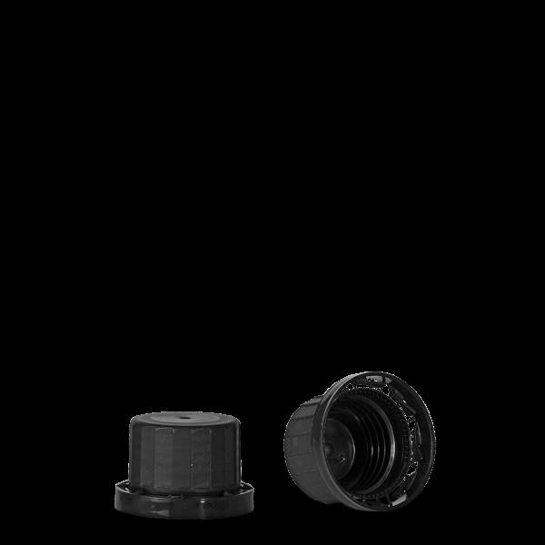 Originalitätsverschluss - schwarz - OV 28 Gewinde