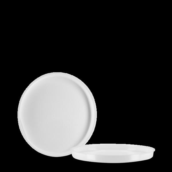 Einlegedeckel - weiß - 62 mm