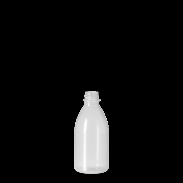 100 ml Enghals Laborflasche - rund - DIN 18