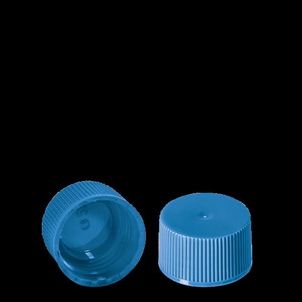 Schraubverschluss - hellblau - DIN 25 Gewinde