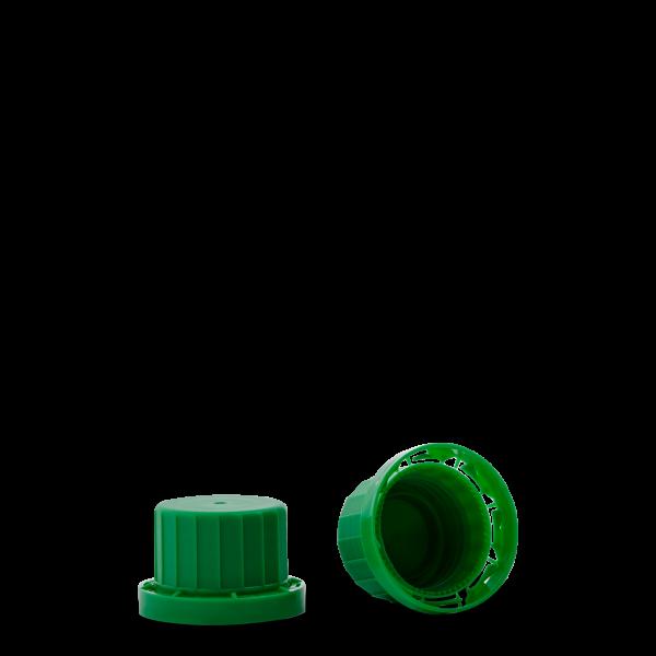 Originalitätsverschluss - grün - OV 28 Gewinde