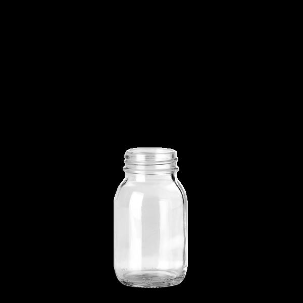 125 ml Weithalsglas - Klarglas - GL 40 Gewinde