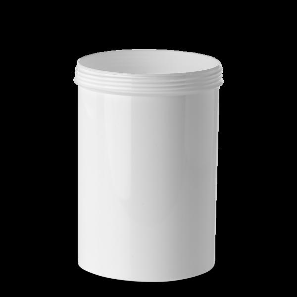 1000 ml Schraubdose - rund - weiß - Gewinde 100 mm