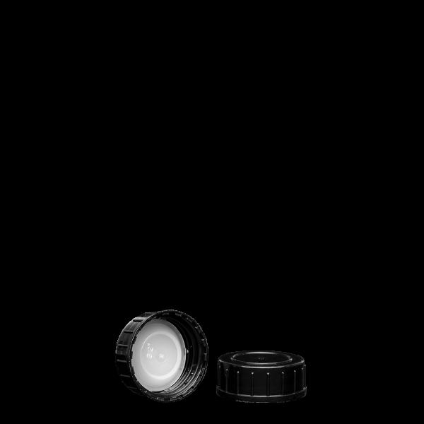 Schraubverschluss - schwarz - GL 32 - LDPE
