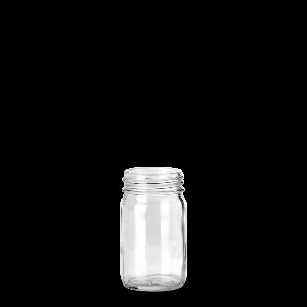 150 ml Weithalsglas - Klarglas - GL 45 Gewinde