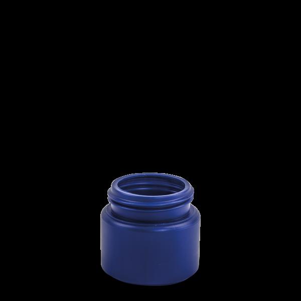150 ml Dose - rund - blau - Drück&Dreh