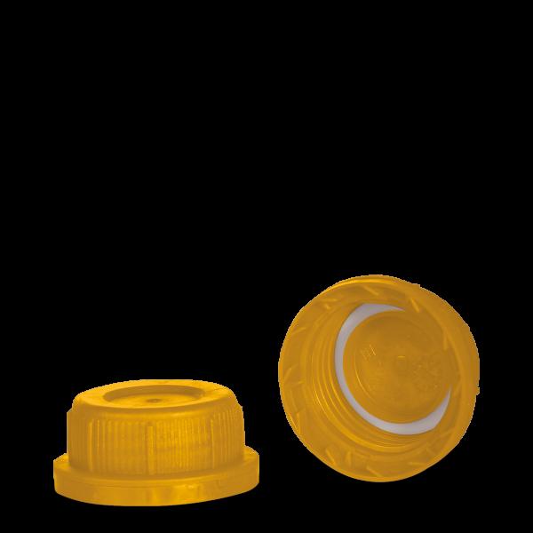 Kanisterverschluss - gelb - DIN 45 Gewinde - UN