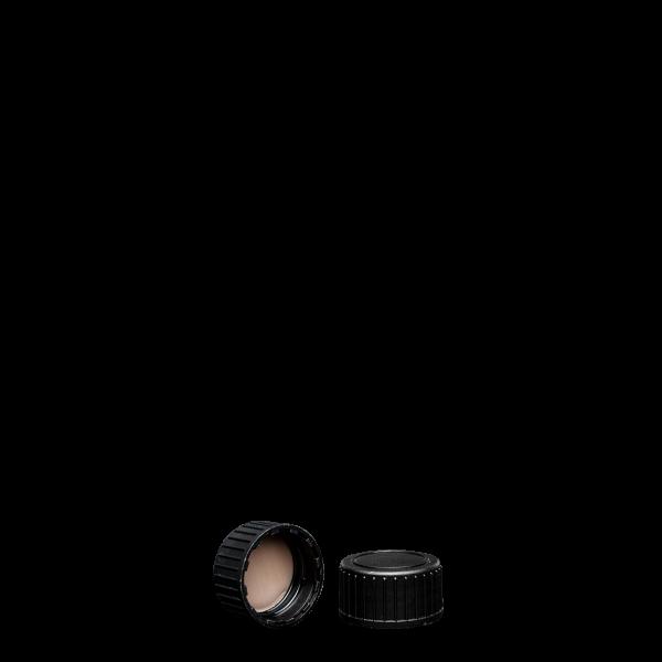 Schraubverschluss - schwarz - GL 22 - PTFE