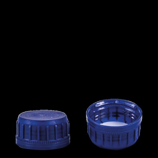 Originalitätsverschluss Öl - blau - OV 38 Gewinde