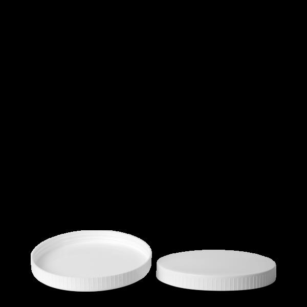 Schraubdeckel - weiß - 130 mm Gewinde