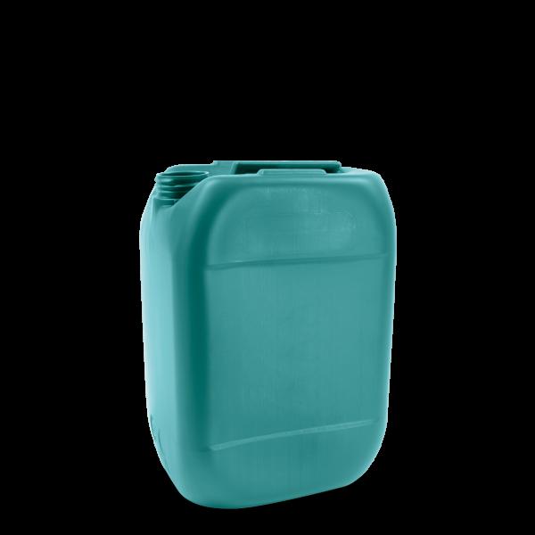 10 Liter Kunststoff Kanister grün - DIN 51