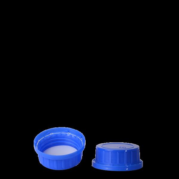Originalitätsverschluss - blau - OV 45 Gewinde