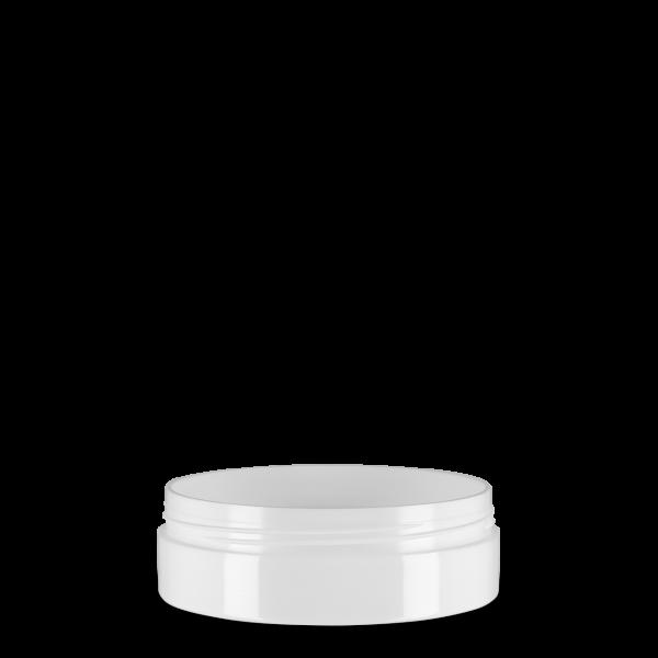 75 ml Kosmetikdose Lotus & Calla - weiß - 74 mm