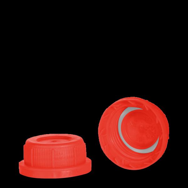 Kanisterverschluss - rot - DIN 45 Gewinde - UN