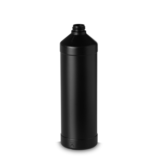 1000 ml UN-Flasche - schwarz - OV 28 - UN-Y