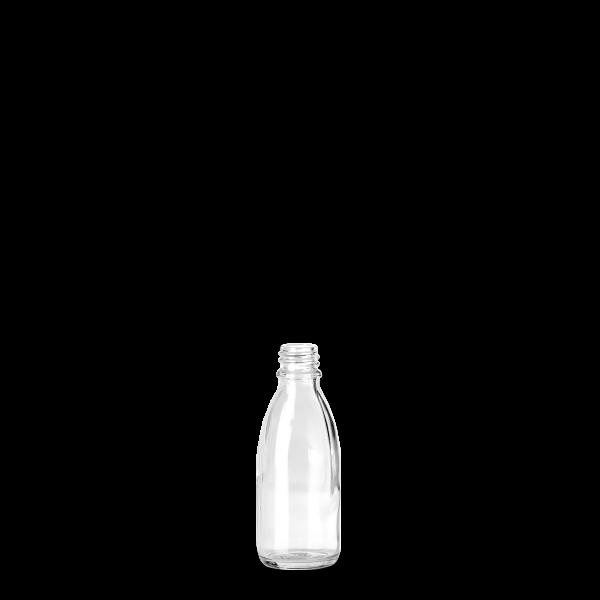 50 ml Enghalsglas - Klarglas - GL 18 Gewinde