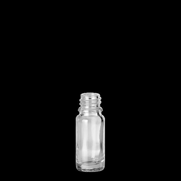 10 ml Allroundflasche - Klarglas - GL 18 Gewinde