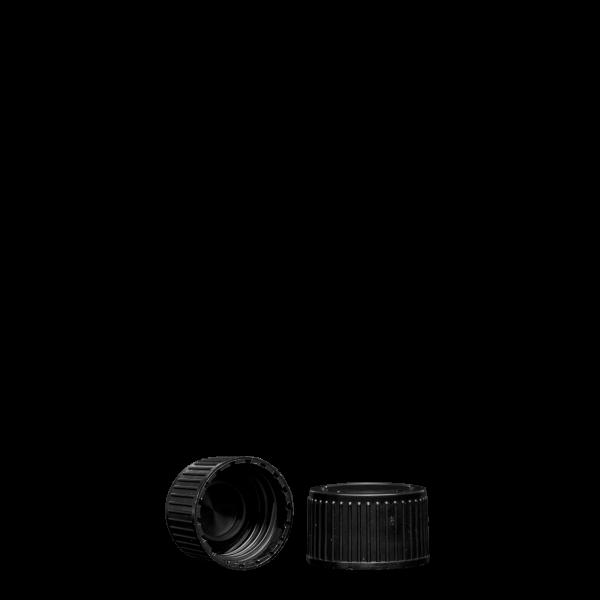 Schraubverschluss - schwarz - PP 28 Gewinde