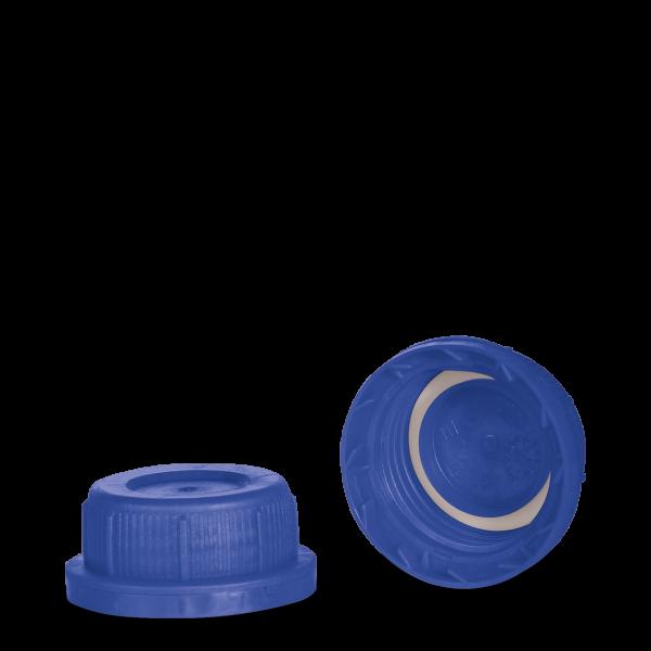 Kanisterverschluss - blau - DIN 45 Gewinde - UN