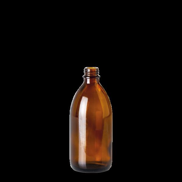 250 ml Enghalsglas - Braunglas - GL 22 Gewinde
