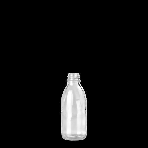 100 ml Enghalsglas - Klarglas - GL 22 Gewinde