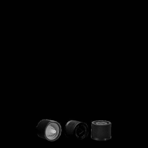 Drück+Dreh Tropfverschluss - schwarz - UNI 2