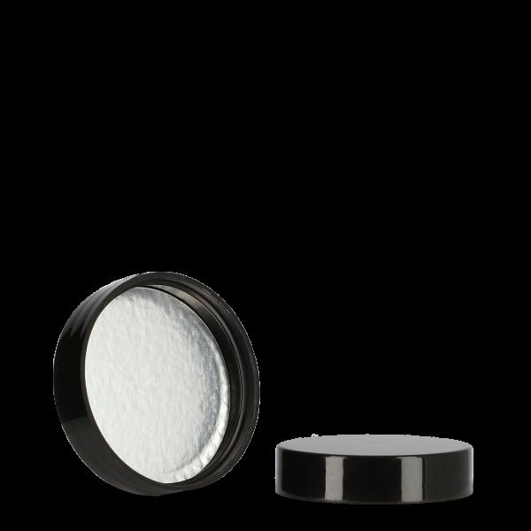 Schraubverschluss schwarz - Gewinde 45/400