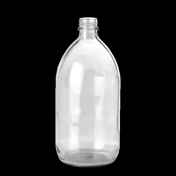 1000 ml Enghalsglas - Klarglas - GL 28 Gewinde