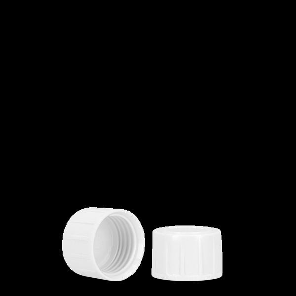 Schraubverschluss - weiß - Tellerrand 28