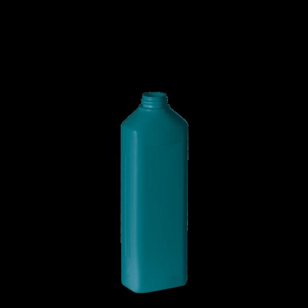 500 ml Modulflasche - türkis - DIN 28 Gewinde
